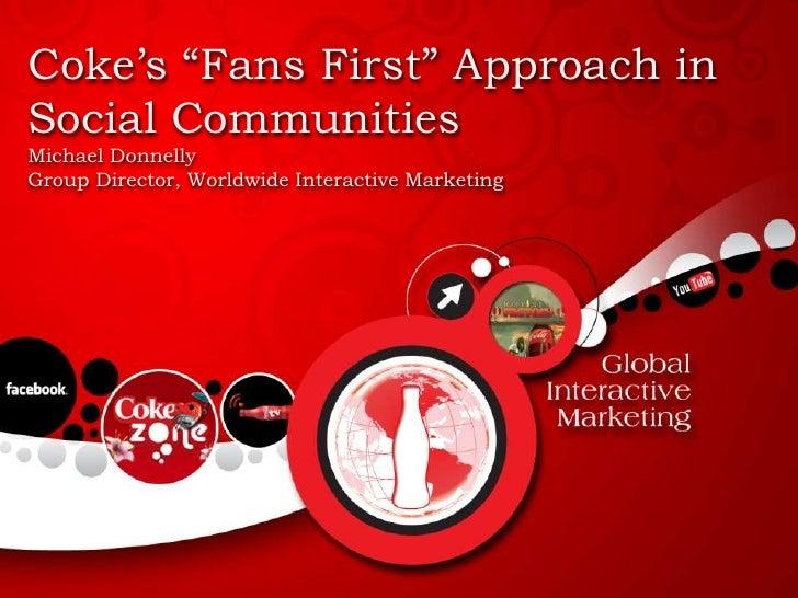 CoCa Cola Online Strategy