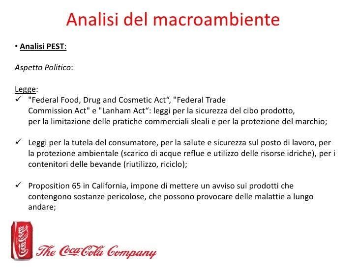 Coca cola pestle analysis