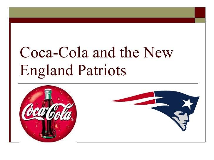 Coca-Cola and the New England Patriots