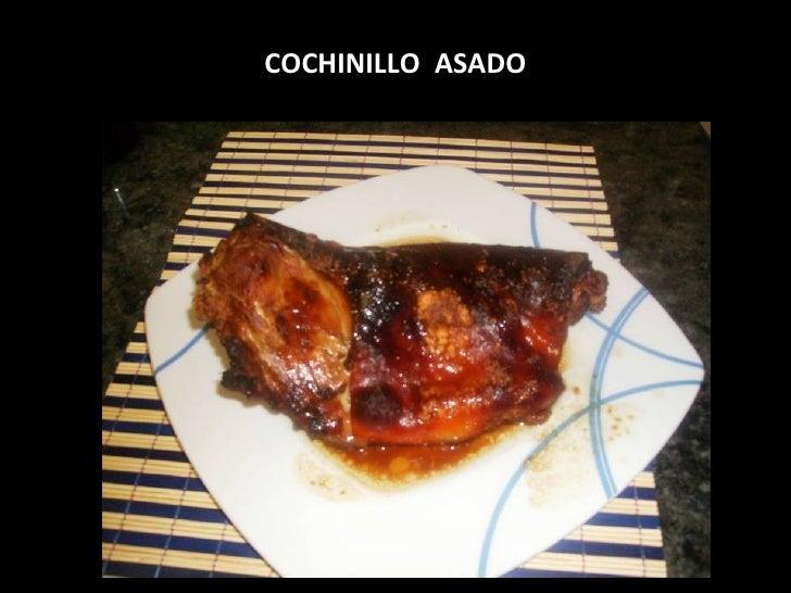 COCHINILLO  ASADO