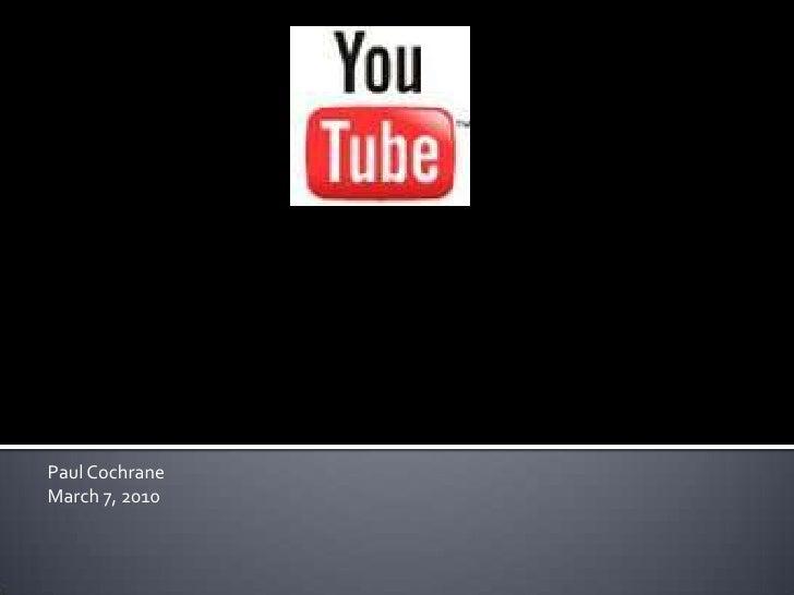 """Using YouTube For Social Change"""