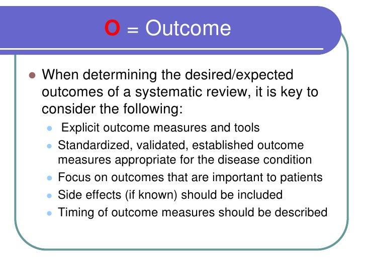Cochrane literature review