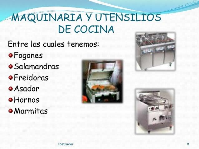 Cocina basica for Utensilios de cocina y sus funciones pdf