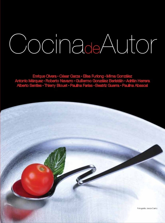 Cocina de autor for Libros de cocina molecular