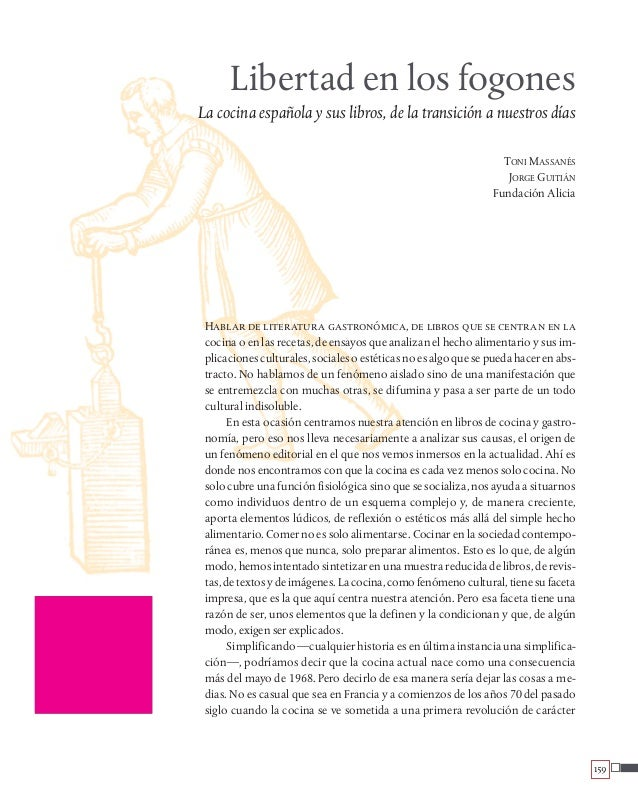 156-195_05capitulo_cocina 9/12/10 13:15 Página 159                                                      Libertad en los fo...