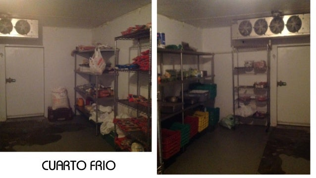 Investigacion cocina italiana laura chaljub 14 0332 for Cuarto frio cocina