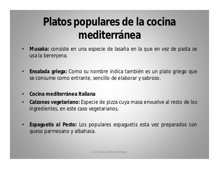 Queso parmesano for Cocina mediterranea