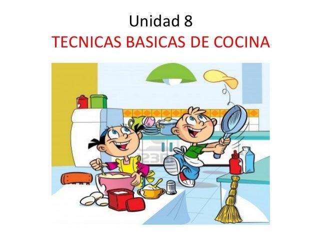 Cocina pdf for Tecnicas culinarias pdf
