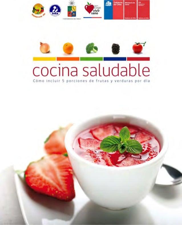 Cómo incluir 5 porciones de frutas y verduras 1 cocina saludableC ó m o i n c l u i r 5 p o r c i o n e s d e f r u t a s ...