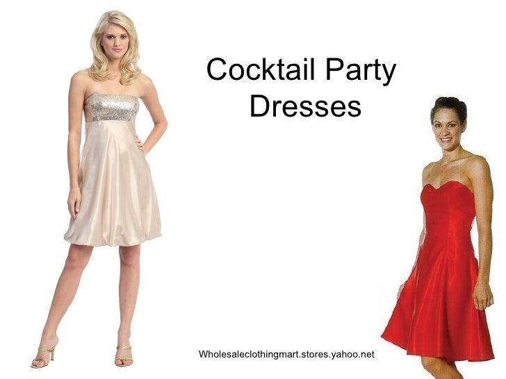 Cocktail Party  Dresses Wholesaleclothingmart.stores.yahoo.net