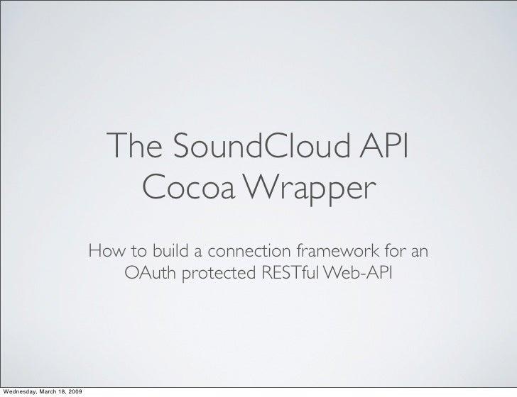 SoundCloud Cocoa API Wrapper