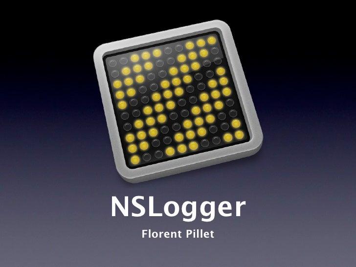 NSLogger Florent Pillet