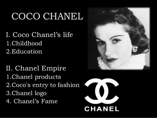 coco chanel early life Coco chanel, born gabrielle coco bonheur chanel, is the founder of the well- known chanel brand she was a french fashion designer that.