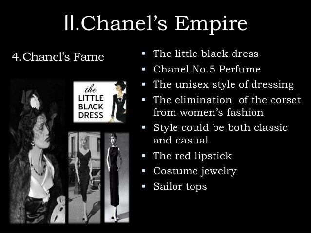 Chanel black dress quote - Fashion dresses