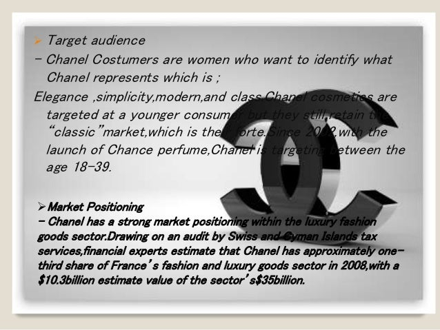 market share of chanel Chanel sa, also known as the house of chanel, provides fashion products, fragrances, make-up products, skin care products, jewelry, and watches it offers handbags.