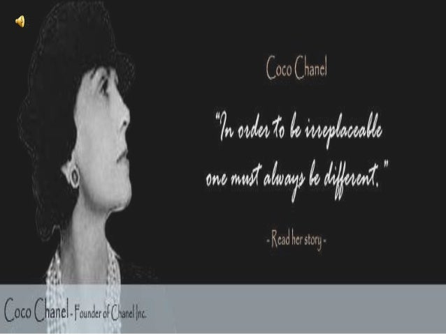 """Gabrielle """"Coco"""" Chanel 1883-1971 Born in Saumur, Southern France on August 19, 1883"""
