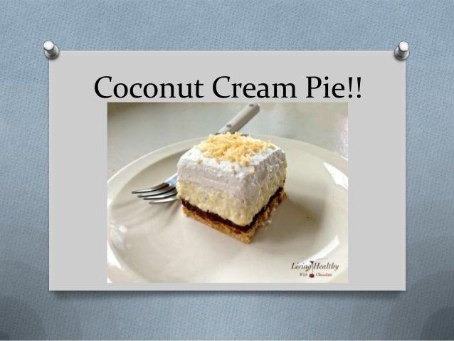 Coconut Cream Pie!!