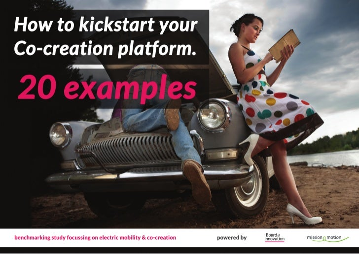 How to kickstart your co-creation platform - 20 examples by @boardofinno
