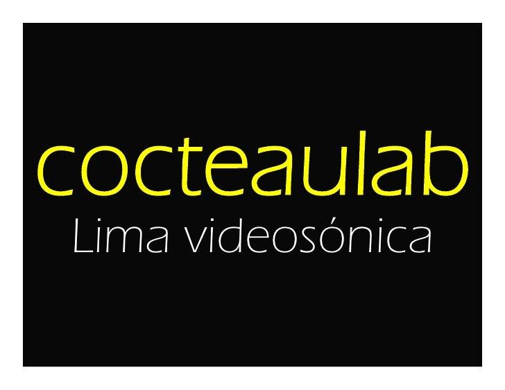 Lima videosónica