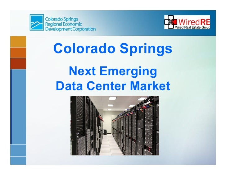 Colorado Springs  Next EmergingData Center Market
