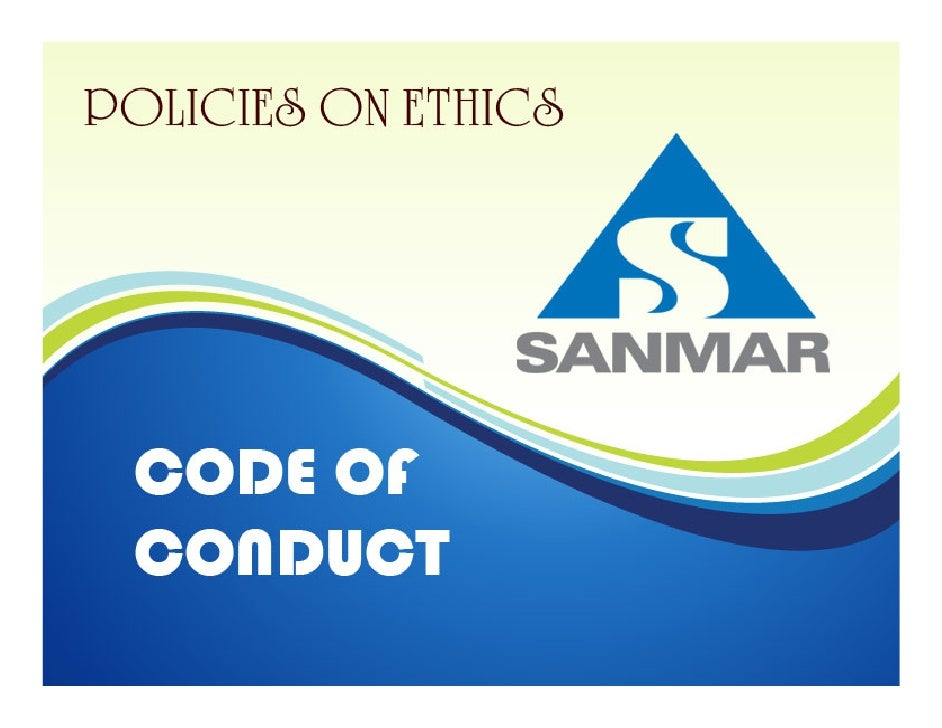 The Sanmar Group-Code of Conduct