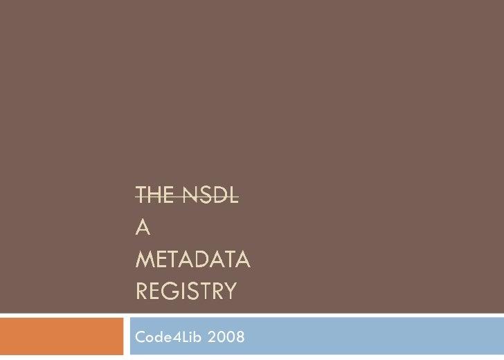 Code4Lib 2008
