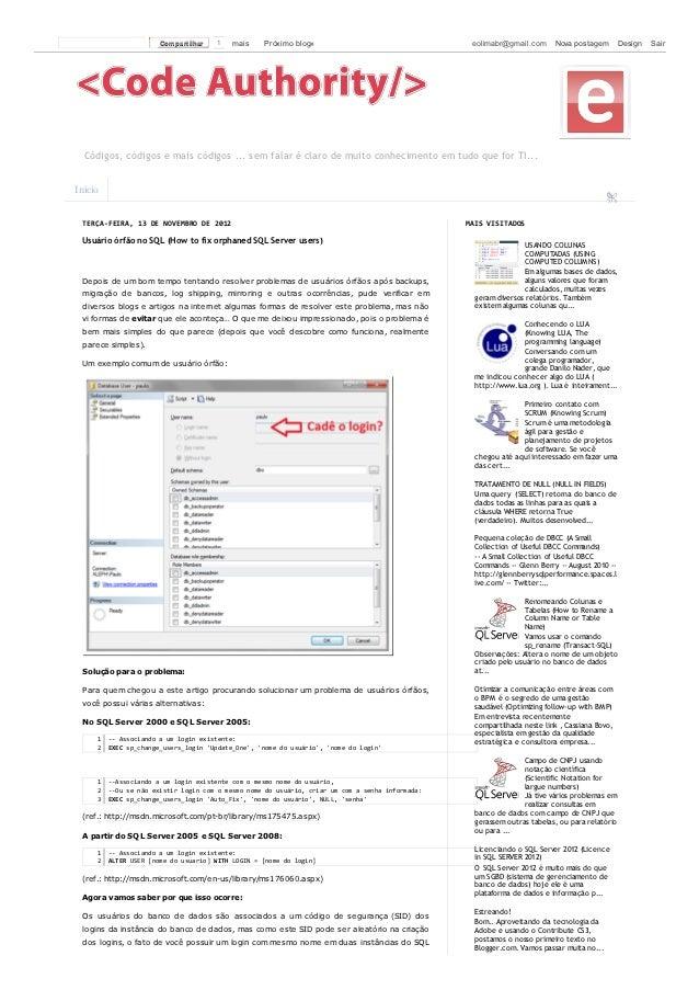 Com partilhar   1   mais   Próximo blog»                             eolimabr@gmail.com      Nova postagem         Design ...
