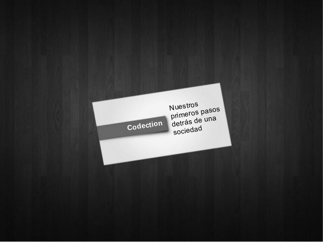 Presentación de Codection / Charla Técnica Wordpress - Betabeers Córdoba (29/11/2012)
