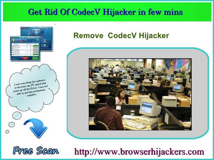 How to Remove Codec v hijacker