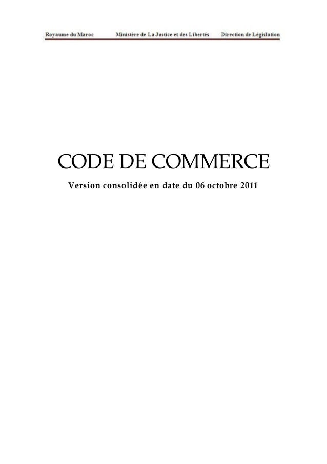 Code de commerce2