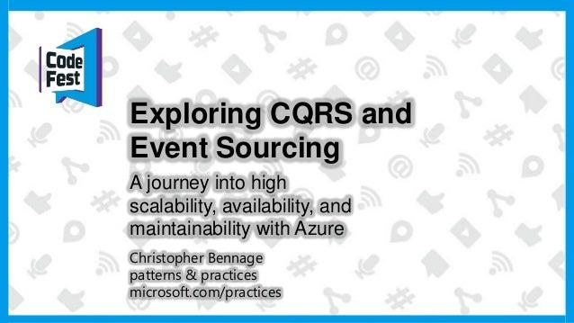 CQRS: high availability, scabaility, and maintainability