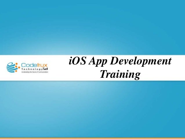 iPhone application training in Bangalore