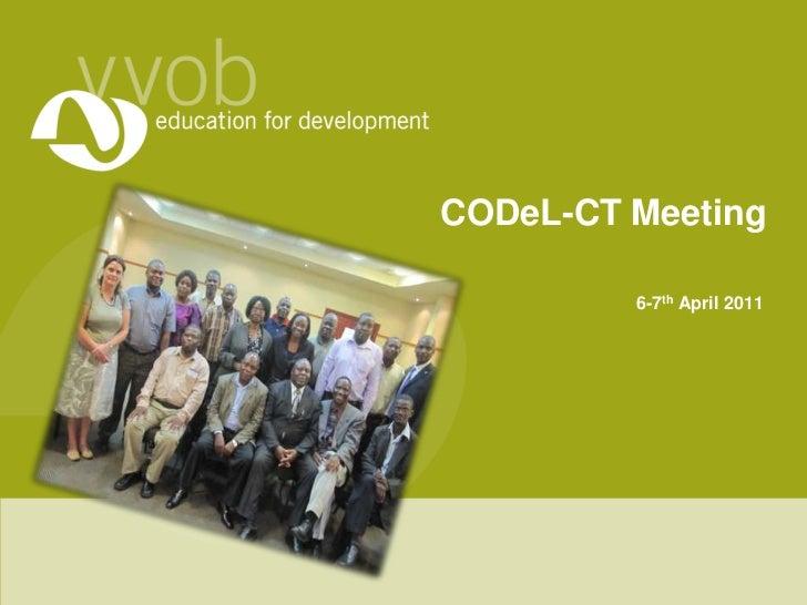 CODeL-ct presentation apr2011