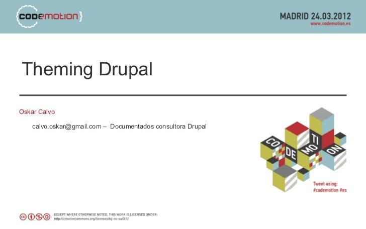 Theming drupal 7