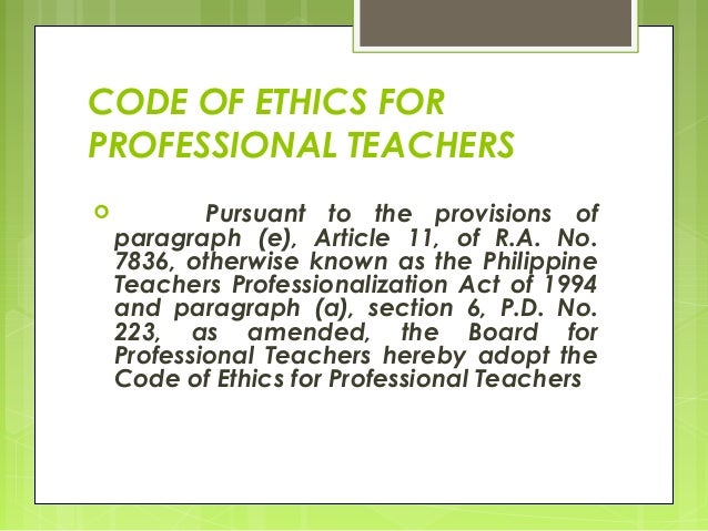 essay of code of ethics Ethics is an essential part of what nursing is nursing has an eminent chronicle of trepidation for the wellbeing of those who are ill, hurt, and the helpless and for universal fairness.