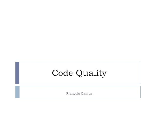 Code Quality