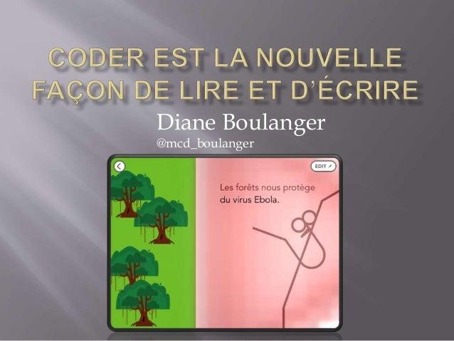Diane Boulanger  @mcd_boulanger