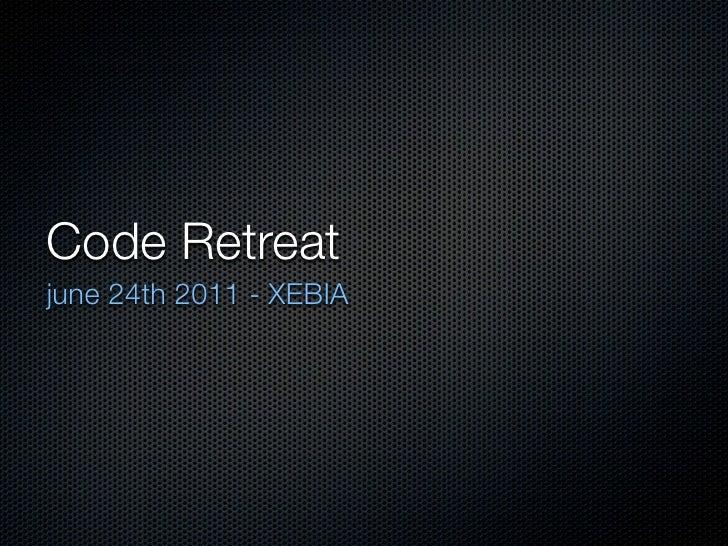 Code retreat june24th