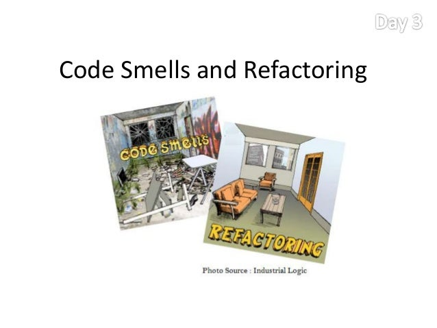 Code smells and remedies