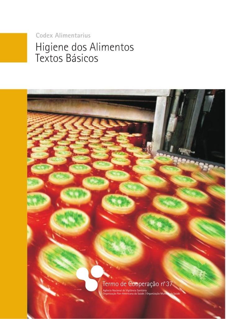 Programa Conjunto da Fao/omS Sobre normaS alimentareS           ComiSSÃo do CODEX ALIMENTARIUS              Codex Alimenta...