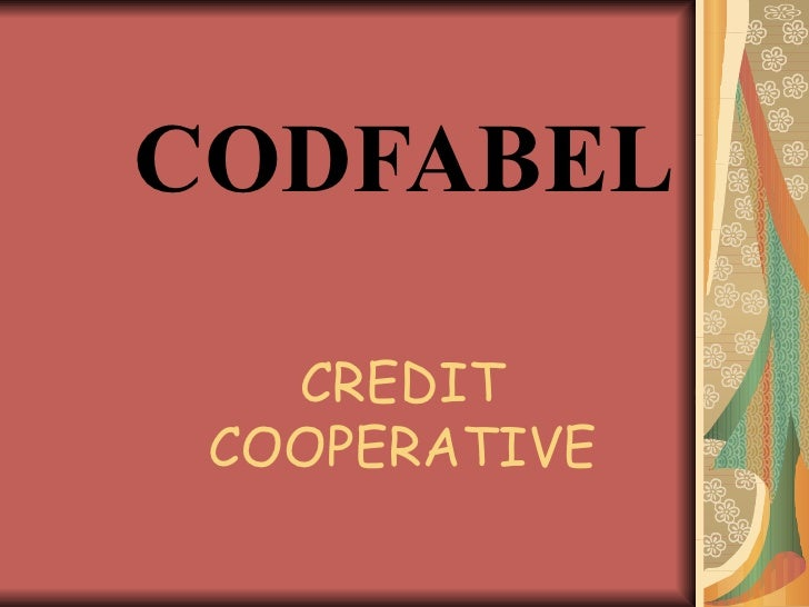 Codfabel power point final