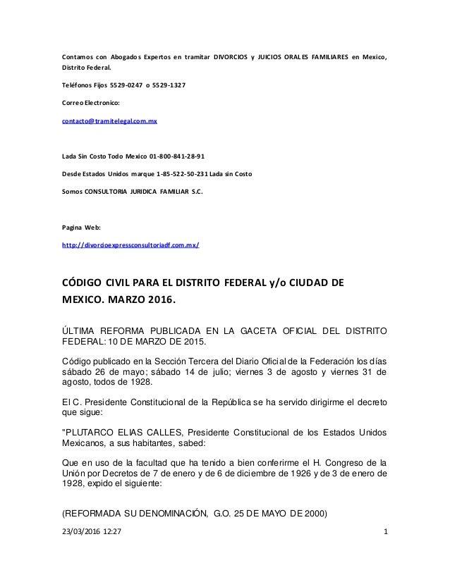 ... Civiles Para El Distrito Federal | newhairstylesformen2014.com
