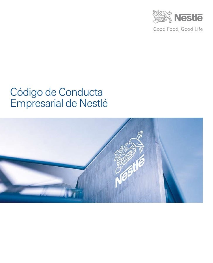 Código de ConductaEmpresarial de Nestlé