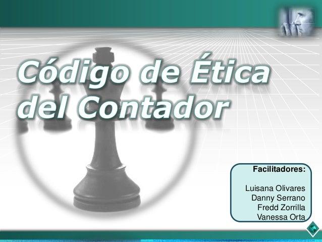 Codigo de etica (corrección)