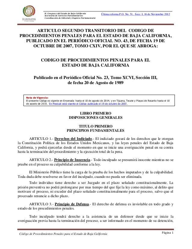 Decr H. Congreso del Estado de Baja California Secretaría de Servicios Parlamentarios Coordinación de Editorial y Registro...