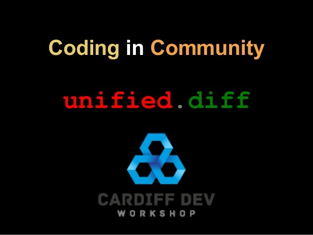 Coding in Community unified.diff