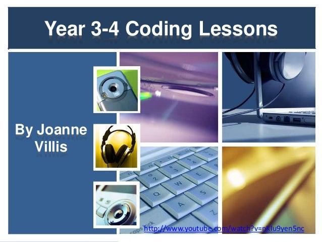 Coding: Year 3-4 Teaching Ideas by Joanne Villis