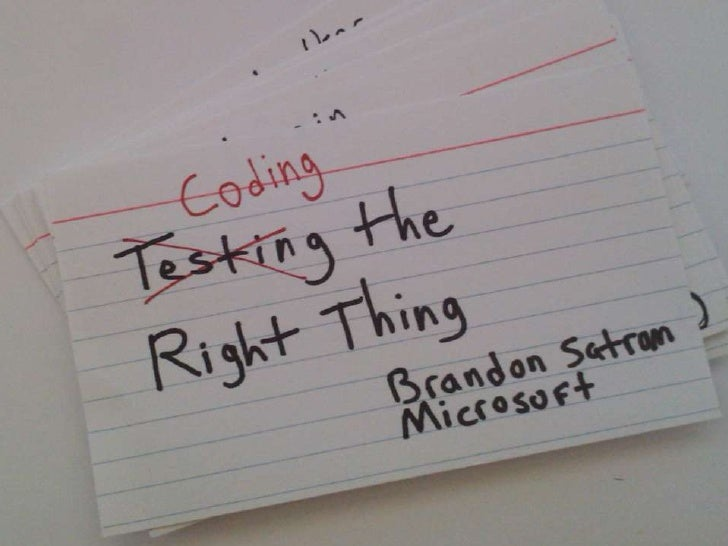Coding the Right Thing<br />