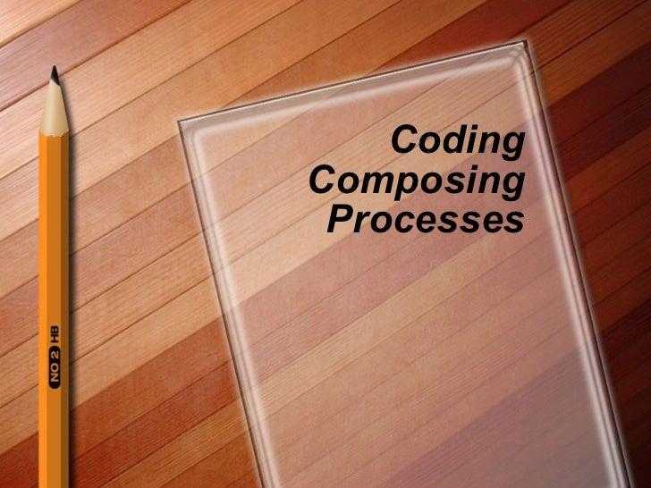 Coding Composing Processes