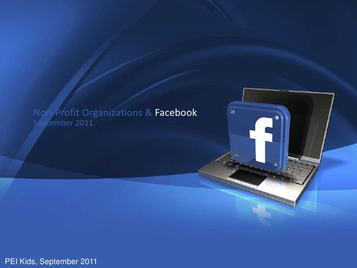 Non-Profit Organizations & Facebook